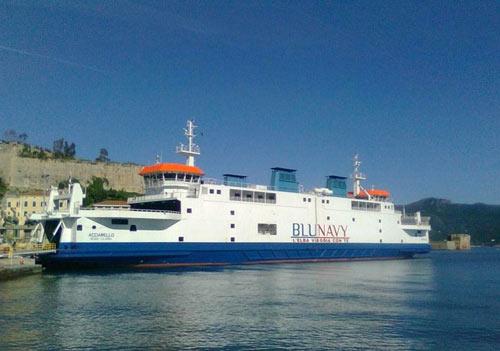 Elba Traghetto Compagnia marittima Blu Navy