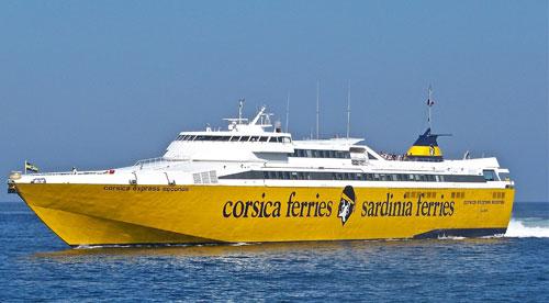Corsica ferries Sardinia Ferries traghetto veloce