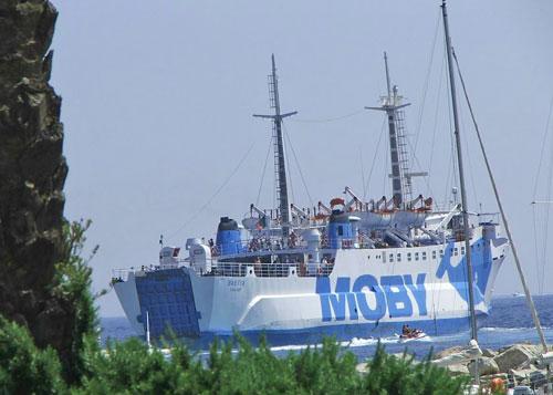 Elba traghetto Bastia tratta Portoferraio Piombino