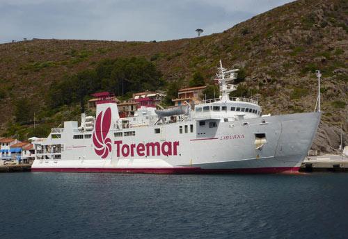 Liburna Compagnia marittima Toremar - Isola Elba