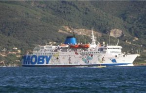 Traghetto di line su Elba Moby Lally - Moby Lines