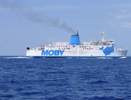 Compagnia marittima Moby Lines - Isola Elba