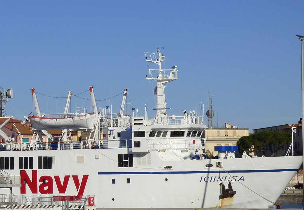Elba Traghetto Ichnusa Blu Navy