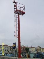 Porto Marina di Campo Fanale a Luce Fissa Laterale Sinistra - Traghetto Elba