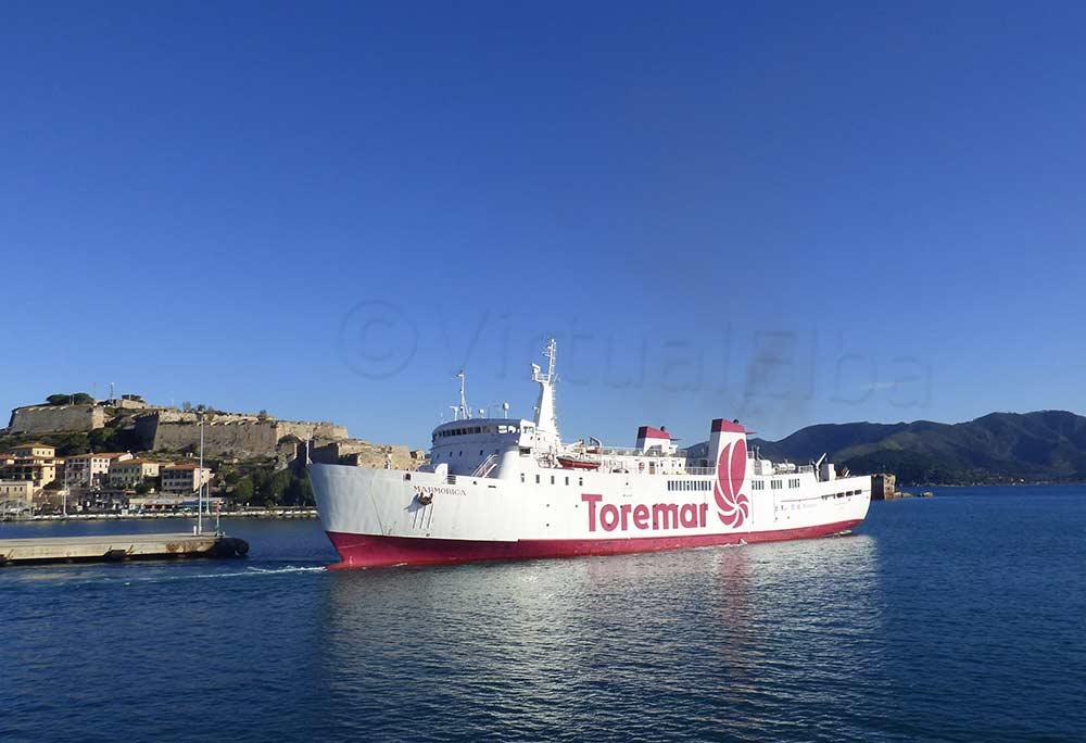 Traghetto Marmorica Elba