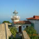 Porto Azzurro Faro su Capo Focardo - Traghetto Elba