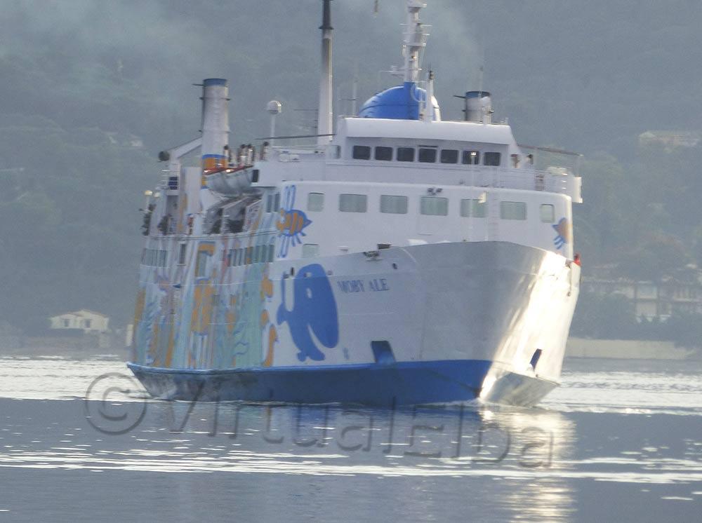 Elba Traghetto Moby Ale linea Piombino Portoferraio