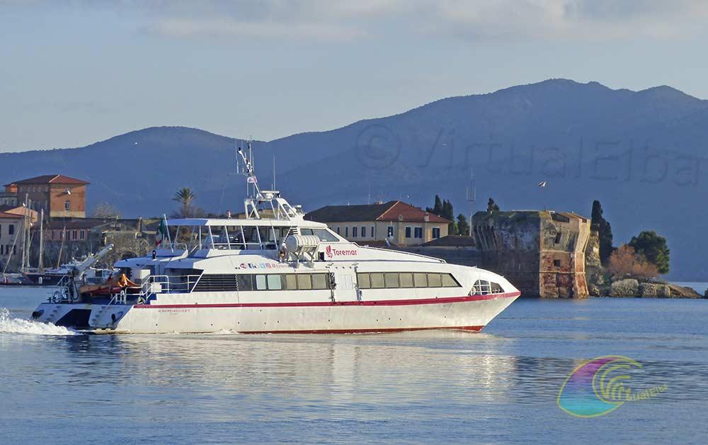 Traghetto Veloce Catamarano Schiopparello Jet