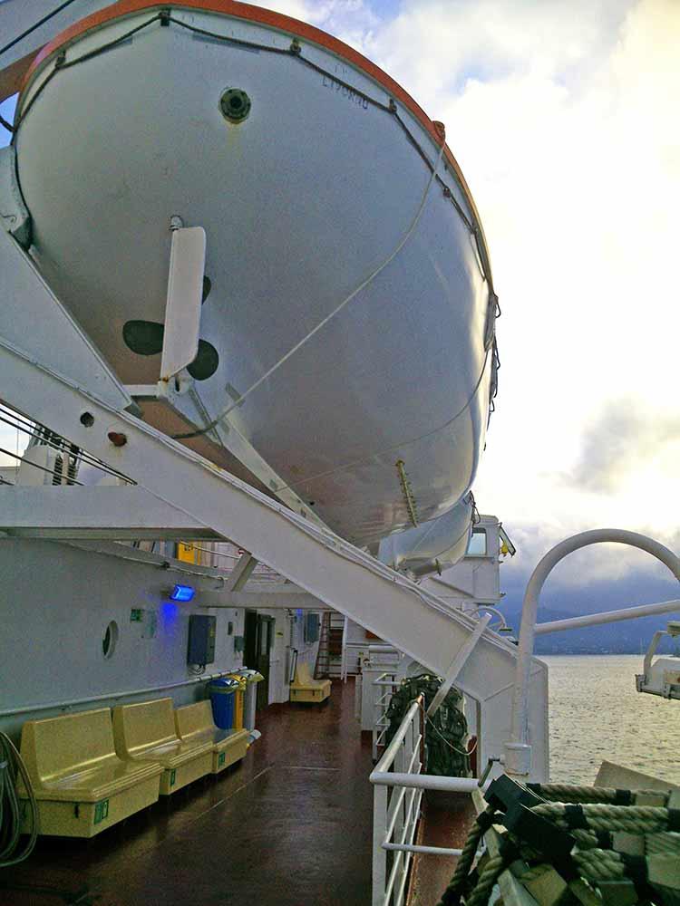 Scialuppa Traghetto Elba